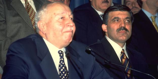 ''Abdullah Gül o mesajı Erbakan'a iletmedi''