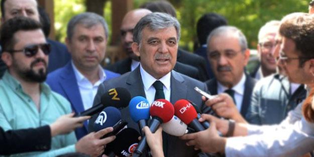 Abdullah Gül sessizliğini bozdu: Çok tehlikeli bir ateşi körüklüyorlar