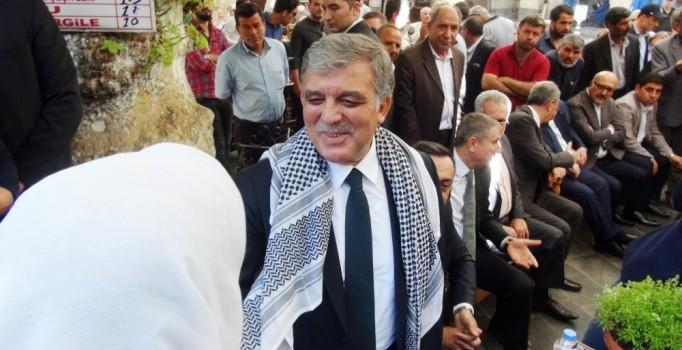 Abdullah Gül'e o kentte büyük ilgi