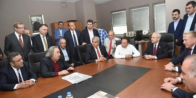 Abdullah Öcalan'ın avukatı Sözcü binasında cirit attı