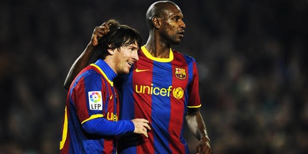 Abidal'dan kan donduran Messi itirafı!