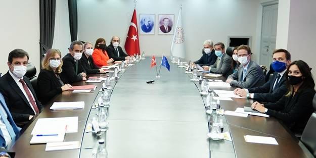 AB'li yetkiliden flaş Türkiye açıklaması: İş birliğine hazırız