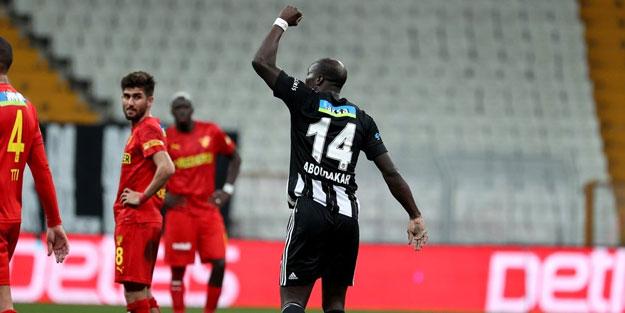 Aboubakar Beşiktaş'ı sırtladı