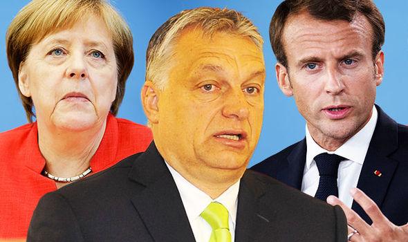 Almanya ve Fransa'yı, AB'nin başında istemiyoruz…