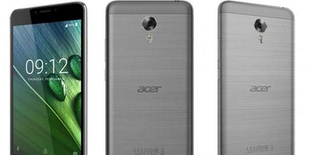 Acer yeni telefonlarını tanıttı