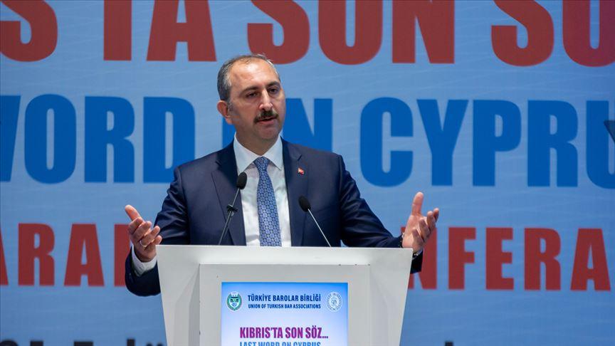 Adalet Bakanı Gül: Kıbrıs Türk halkının bu rezervlerde hakkı vardır