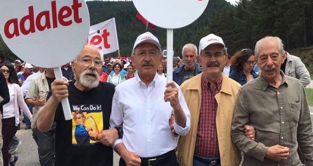 'Adalet yürüyüşü'ne katılmıştı! Kılıçdaroğlu'nu istifaya davet etti!
