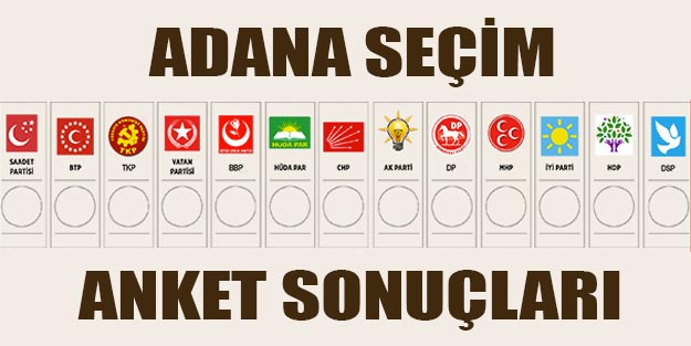 Adana yerel seçim anketi 2019 Adana yerel seçim sonuçları | 2019 Türkiye yerel seçimleri