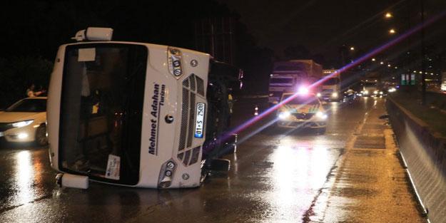 Adana'da feci kaza: 1 ölü 6 yaralı