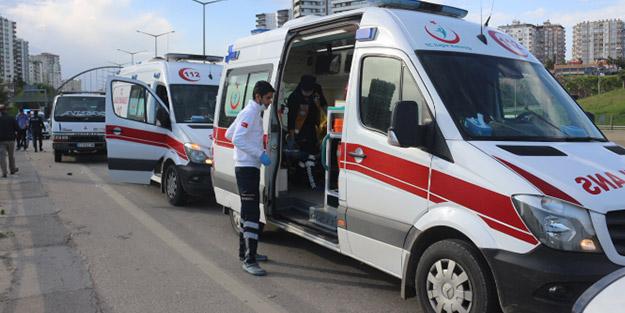 Adana'da feci kaza! 6 yaralı
