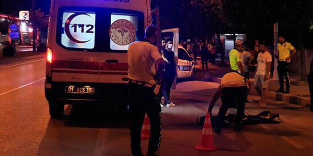 Adana'da feci kaza! Yakınları sinir krizi geçirdi