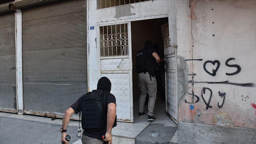 Adana'da terör örgütü PKK/KCK operasyonu