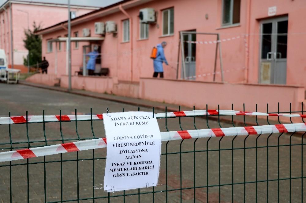 Adana'daki cezaevlerinde Korona virüs tespit edilmedi