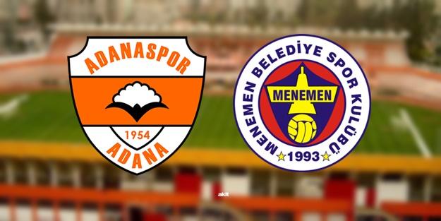 Adanaspor Menemenspor maçı ne zaman, saat kaçta, hangi kanalda?