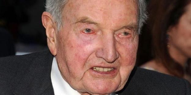 Adı illuminati ile anılan David Rockefeller o gücü böyle kazanmış!