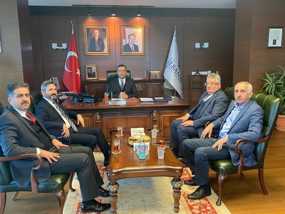 Adıyaman heyeti Ankara'da önemli görüşmeler gerçekleştirdi