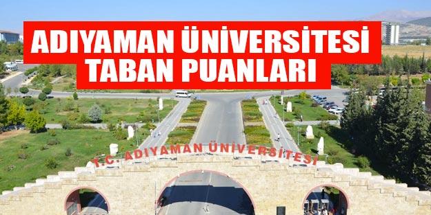 Adıyaman Üniversitesi taban puanları 2019