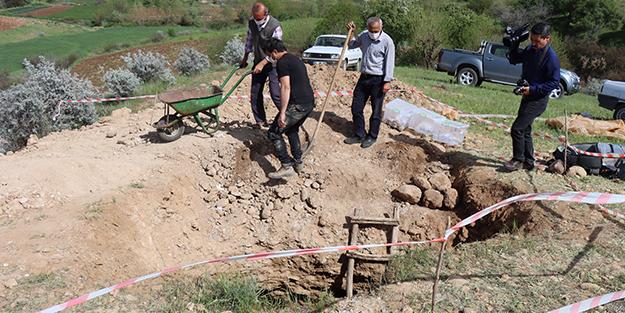 Adıyaman'da 7 insan iskeleti bulundu