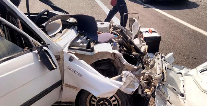 Adıyaman'da düğün konvoyunda kaza: 4 kişi yaralandı