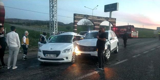 Adıyaman'da feci kaza: 1 ölü, 4 yaralı