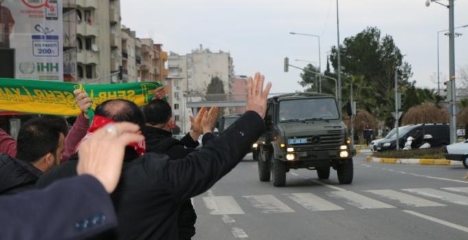 Adıyaman'dan sınır kentlerine jandarma özel harekat sevkiyatı