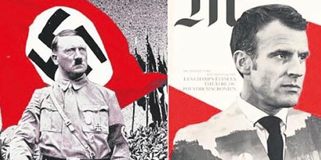 Adolf Hitler Emmanuel Macron'u çıldırttı