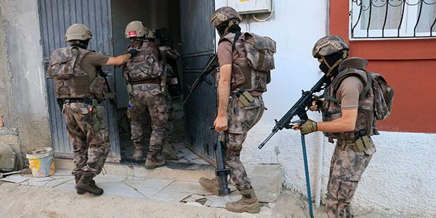 Adreslere şafak baskını! Kentte özel harekat destekli PKK/KCK operasyonu