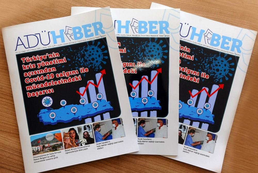 ADÜ Haber Dergisi 152. sayısı yayımlandı