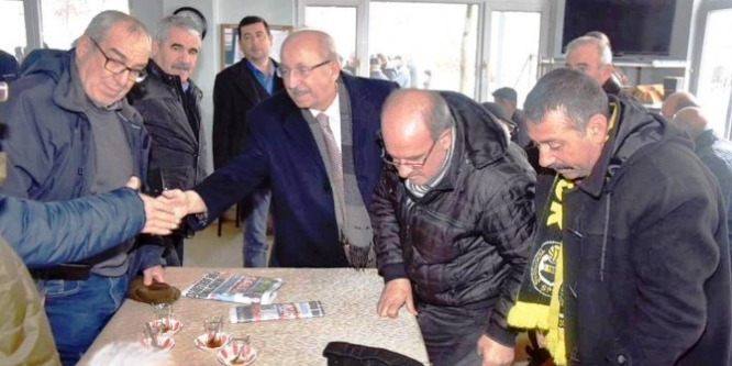 Başkan Kadir Albayrak Kazandere mahallesinde vatandaşlarla buluştu