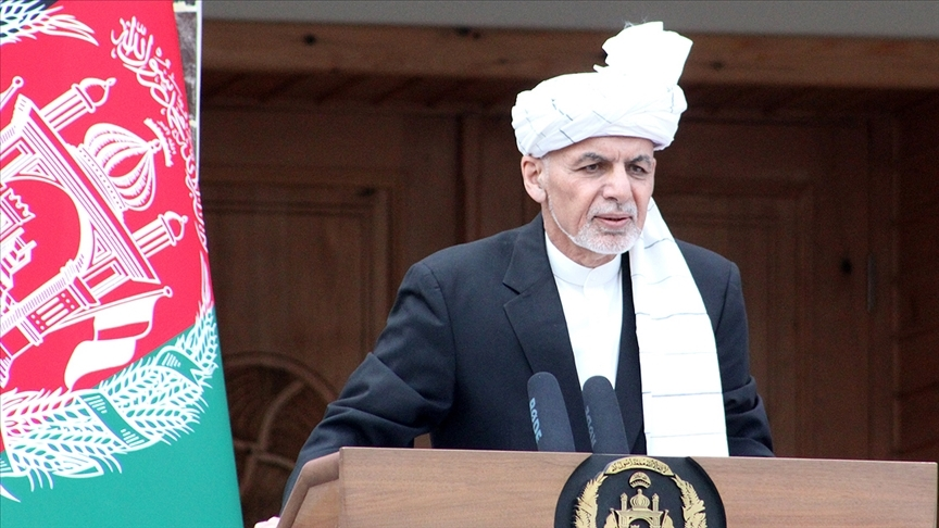 Afganistan Cumhurbaşkanı Gani: Savaşı Taliban başlattı ve sorumlusu da kendileridir