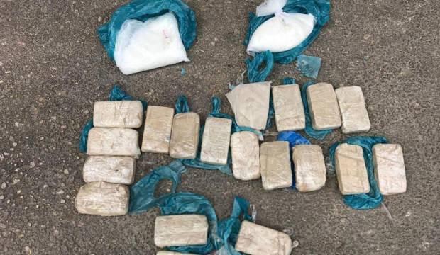 Afganistan uyruklu şüpheli 10 buçuk kilo eroinle yakalandı