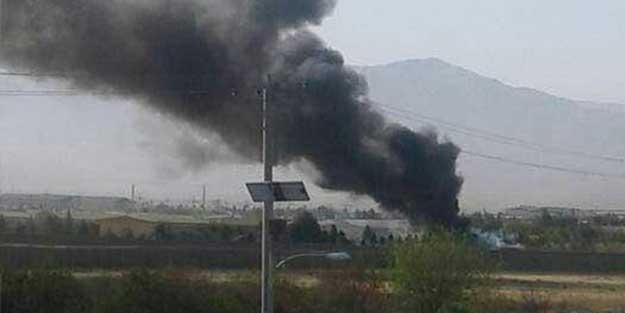 Müslüman ülkede askeri helikopter düştü! İlk görüntü...