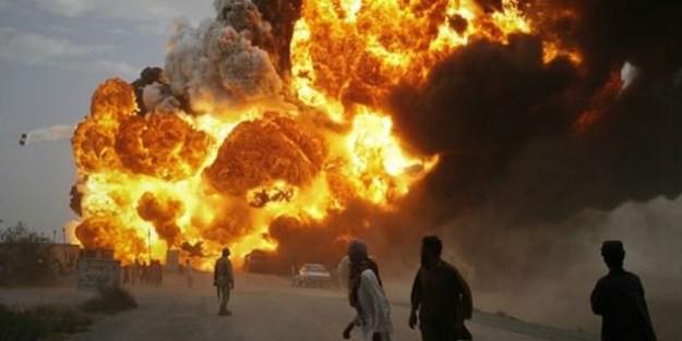 Afganistan'da askeri üste katliam: 140 ölü