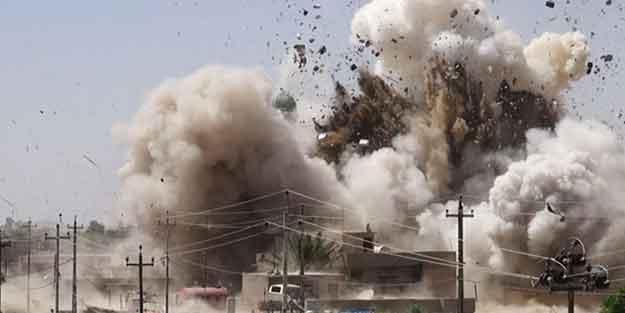 Şehre yapılan bombalı saldırı can aldı