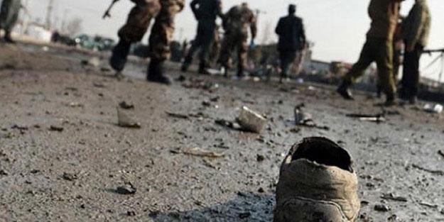 Afganistan'da markette patlama! Yaralılar var