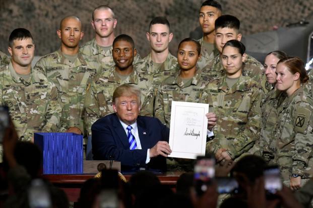 Afganistan'daki Amerikan varlığı daimiymiş!