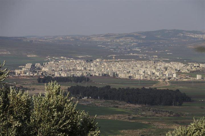 Afrin merkezine 1,5 kilometre kaldı