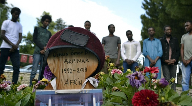 Afrin şehidi Akpınar adına, Etiyopya'da su kuyusu açıldı