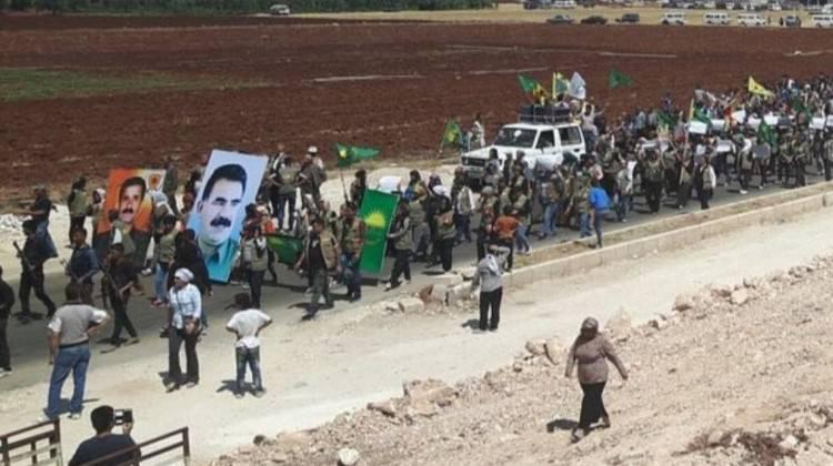 Afrin'deki terroristləri qorxu bürüdü
