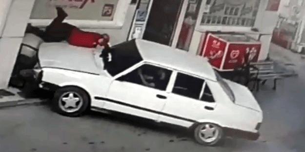 Afyon'da korkunç olay! Ödeme isteyen çalışanı ezip kaçtı