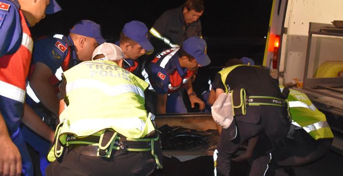 Afyonkarahisar ve Balıkesir'de yolcu otobüsü devrildi: 2 kişi öldü, 42 kişi yaralandı