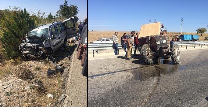 Afyonkarahisar'da feci kaza: 1'i ağır 3 yaralı