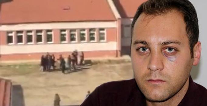 Afyonkarahisar'da öğrenci yakınları, kavgayı ayırmaya çalışan müdür vekilini dövdü