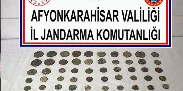 Afyonkarahisar'da tarihi eser operasyonu! 8 gözaltı