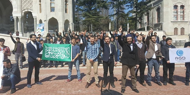 AGD'den Siyonist İsrail'e ezan protestosu