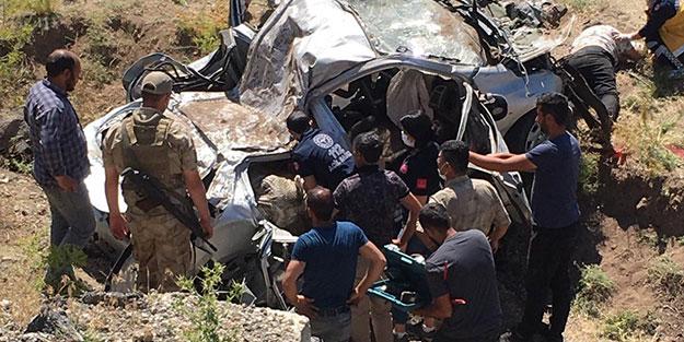 Ağrı'da feci kaza: 3 ölü, 2 ağır yaralı