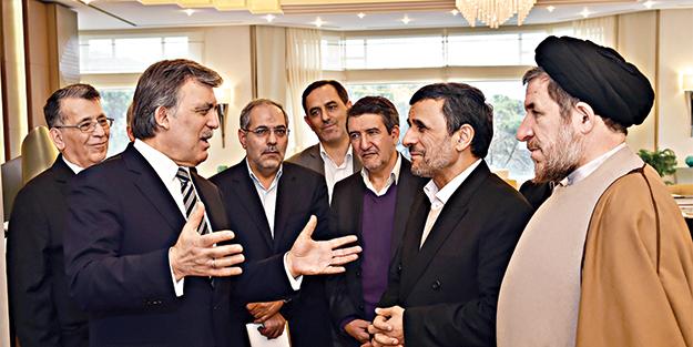 Ahmedinejad'dan Gül'e ziyaret