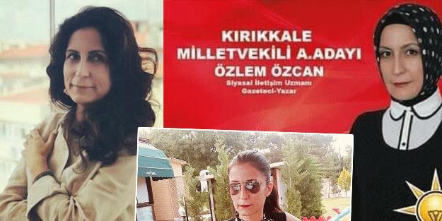 Ahmet Davutoğlu'nun yeni yol arkadaşı Özlem Özcan yanar-döner çıktı