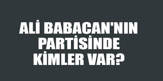 Ahmet Ergin kimdir? Ali Babacan yeni parti kurucular kurulu isim listesi