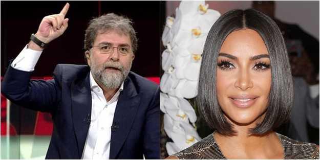 Ahmet Hakan, Kim Kardashian'ı Erdoğan'ın o sözüyle vurdu